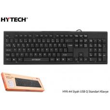 Hytech HYK-44 Siyah USB Q Standart Klavye