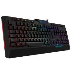 Rampage RAPIDO PLUS Semi Mechanical Sese Duyarlı Rainbow Işıklı Makrolu Gaming Klavye
