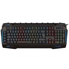 Rampage KB-R63 STAGE Siyah 4 Makro Fonksiyon Sese Duyarlı Işıklı Rainbow Q USB +Ses Mik Çıkışlı Oyuncu Klavyesi