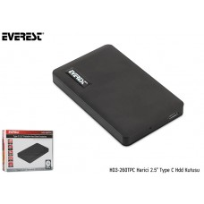 Everest HD3-260TPC Harici 2.5 Type C Hdd Kutusu