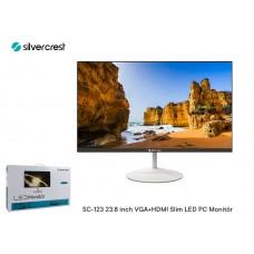 Silver Crest SC-123 23.8 inch VGA+HDMI Çerçevesiz Slim LED PC Monitör