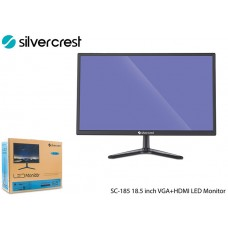 Silver Crest SC-185 18.5 inch VGA+HDMI LED Monitor