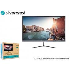 Silver Crest SC-238 23.8 inch VGA+HDMI LED Monitor