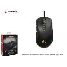Rampage SMX-R47 X-JAMMER Usb Siyah RGB Işıklı 7200 dpi Gaming Oyuncu Mouse