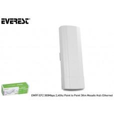 Everest EWİFİ EF2 300Mbps 2,4Ghz Point to Point 3Km Mesafe Hızlı Ethernet