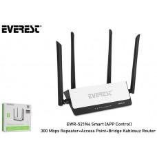 Everest EWR-521N4 300Mbps WISP Repeater+Access Point+Bridge Kablosuz Router