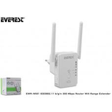 Everest EWR-N501 IEEE802.11 b/g/n 300 Mbps Router Wifi Range Extender