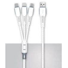 Concord C-323 3 İN 1 USB KABLO 2.4A 1.2M