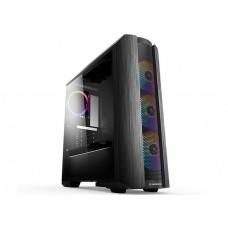 Rampage HERO 650W 80 Plus Bronze 4*ARGB Fanlı 1*Usb 3.0 + 2* Usb 2.0 Tempered Glass Oyuncu Kasas